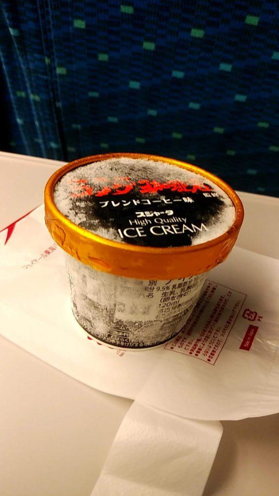 写真:ブレンドコーヒー味アイス