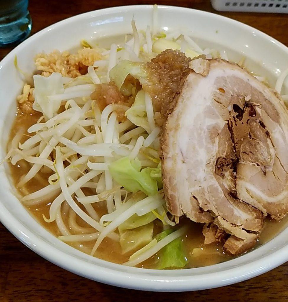 爆麺亭の爆麺(中)
