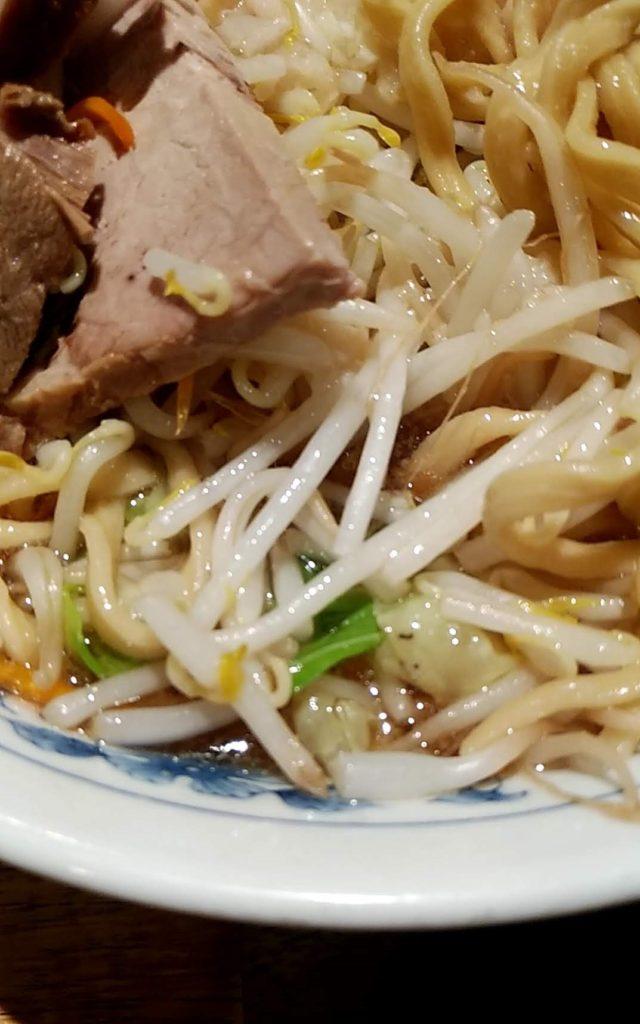 飯田橋大勝軒の豚麺ヤサイ