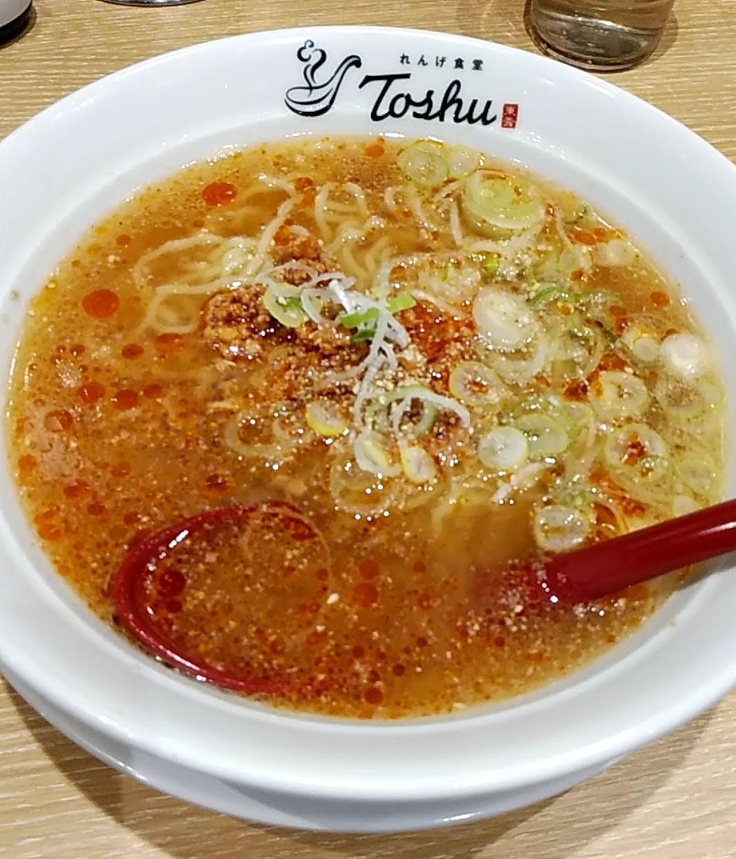 れんげ食堂の担々麺