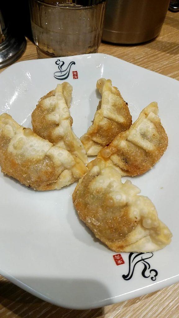 揚げ餃子、れんげ食堂