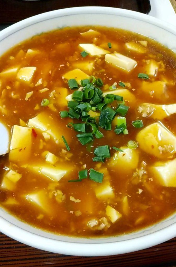 南雲の麻婆豆腐麺