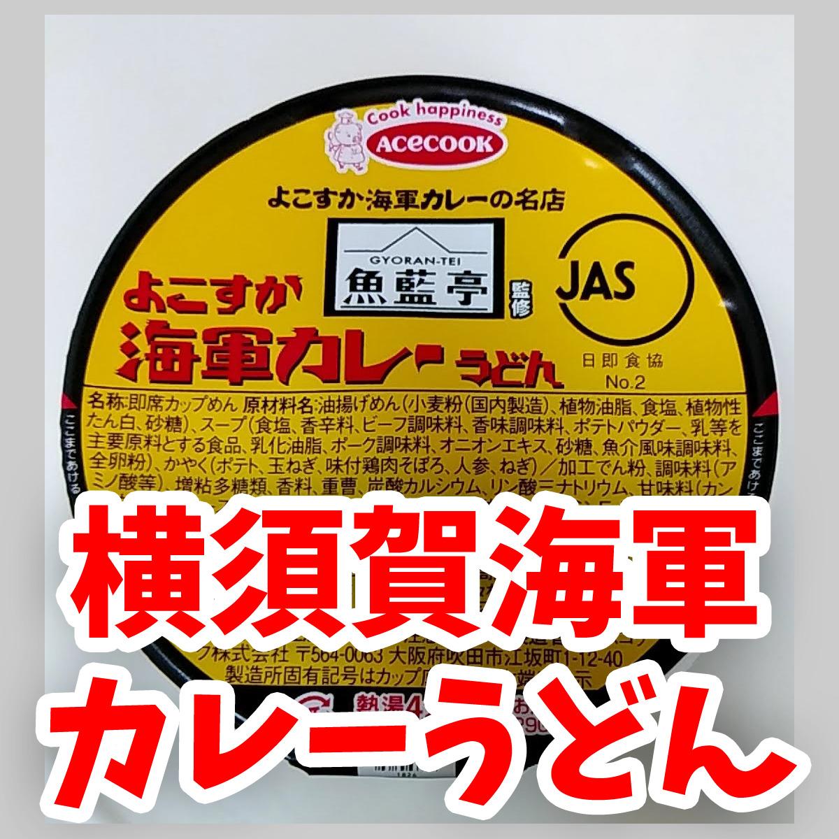 横須賀海軍カレーうどん
